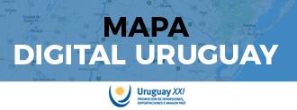 Mapa Digital de Uruguay XXI